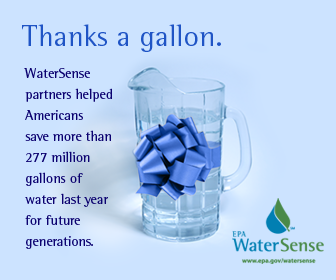 WaterSense Partners helped save 277 million gallons of water in 2007